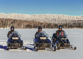 Snowmobiling Routes